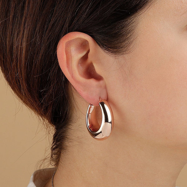 Bronzallure Rounded Circle Earrings