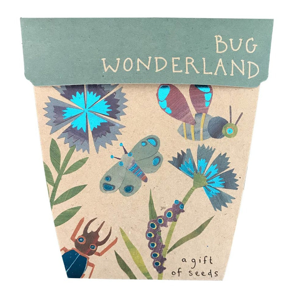 Bug Wonderland Seed Card