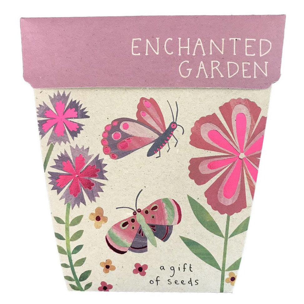 Enchanted Garden Seed Card