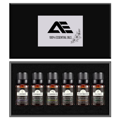 AE x Pure Essential Oils 6pcs Starter Set - AE DIFFUSERS