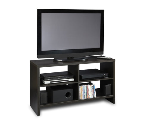 Northfield Collection Black Open Back Modern Stand