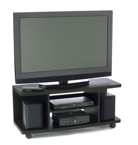 "Northfield Collection 42"" Mobile Black Flat Screen Stand"