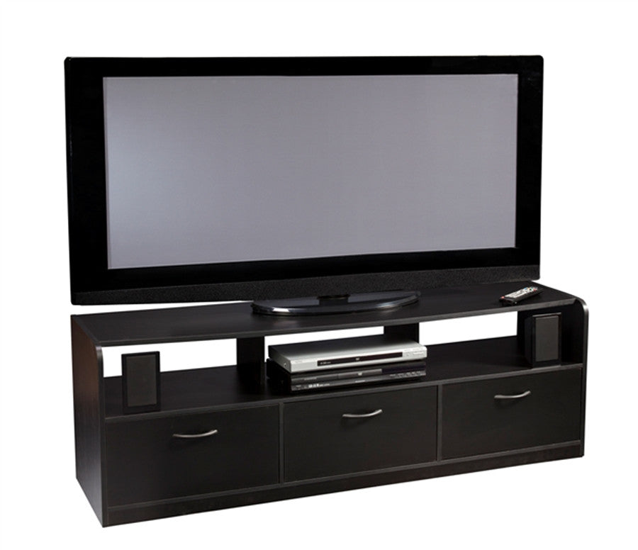 "Tribeca 60"" Modern Black Flat Screen Stand"