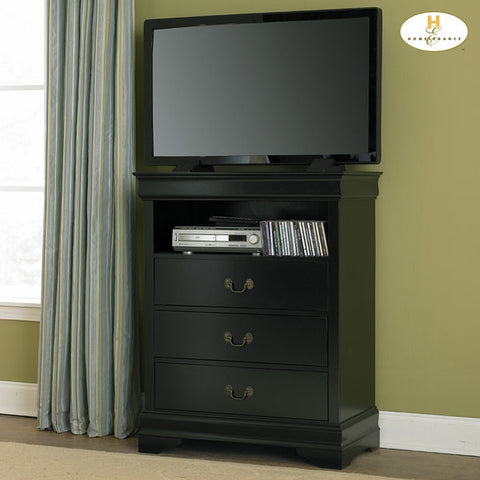 Marianne Collection Bedroom Height Stand in Black