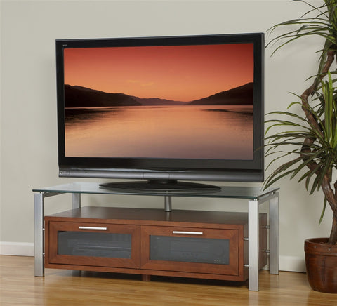 Decor Collection Premium Flat Screen Stand with Optional Finishes