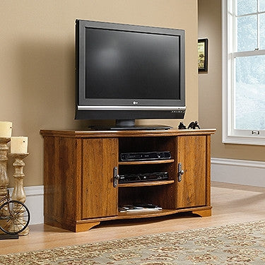 "Harvester Collection 47"" Elegant TV Stand in Abbey Oak"