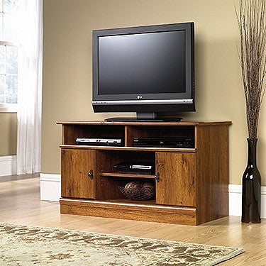 "Abbey Oak 43"" Contemporary Flat Screen TV Stand"