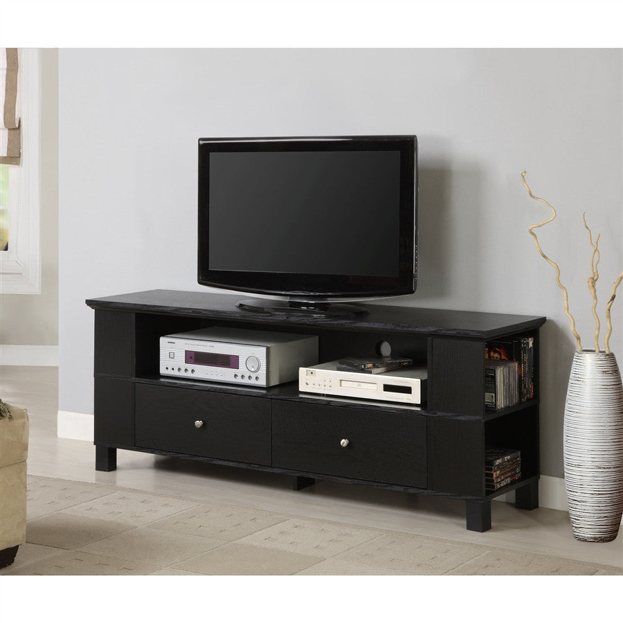 Peterson Modern Tv Stand In Black
