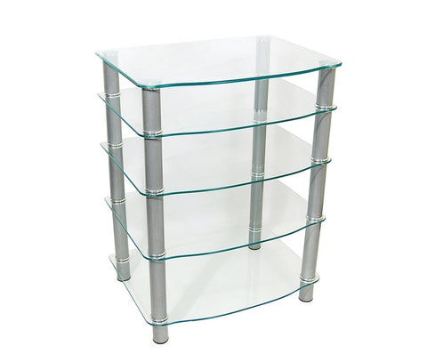Everest Clear Tempered Glass Component Stand