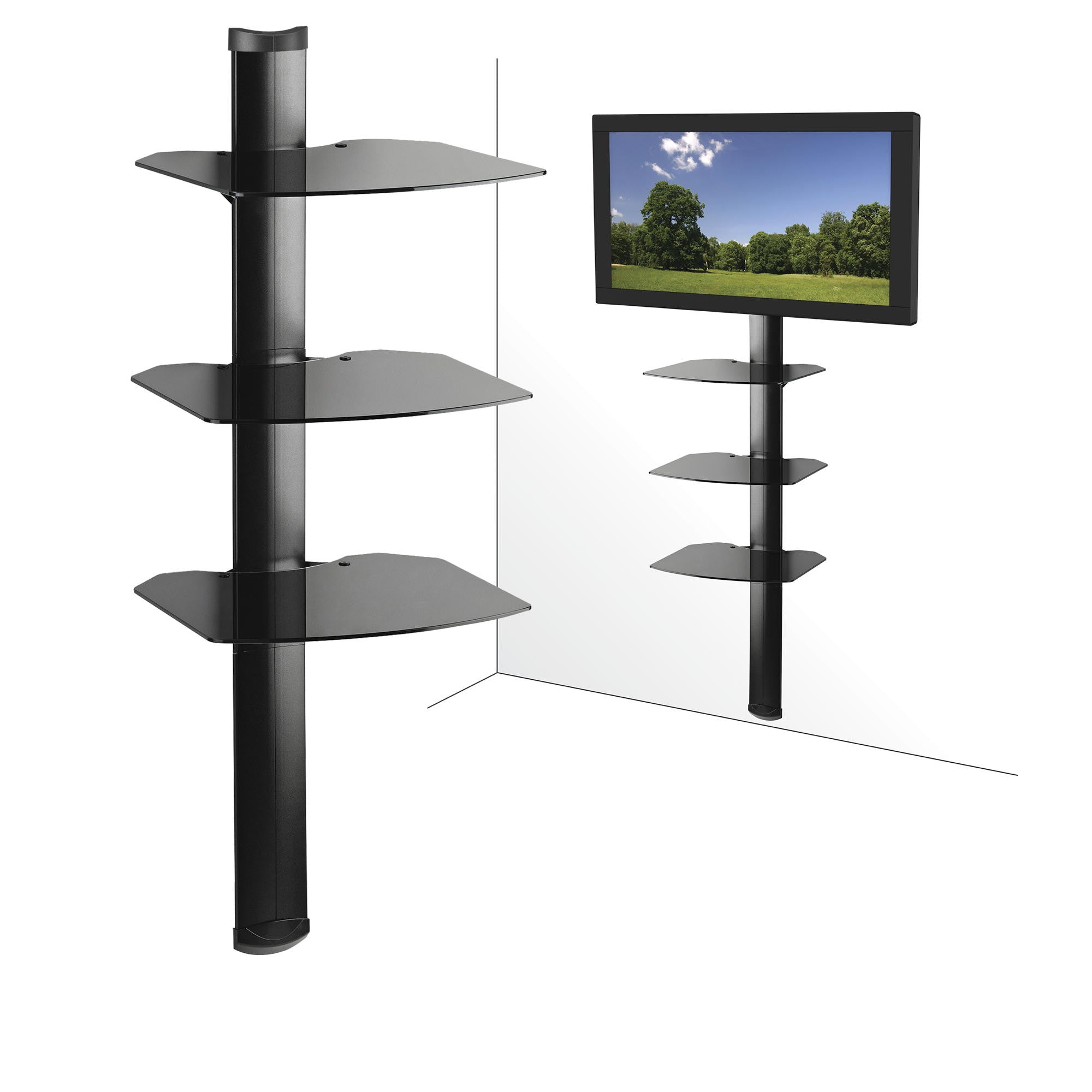 x system shelves mount pl wall steel storability shelving com h w d in shop lowes organization mounted storage at shelf