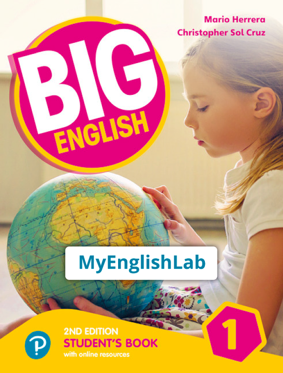 Big English American 2nd edition Level 1 (Student Book Reader+ access & PEP access) 9781292368023