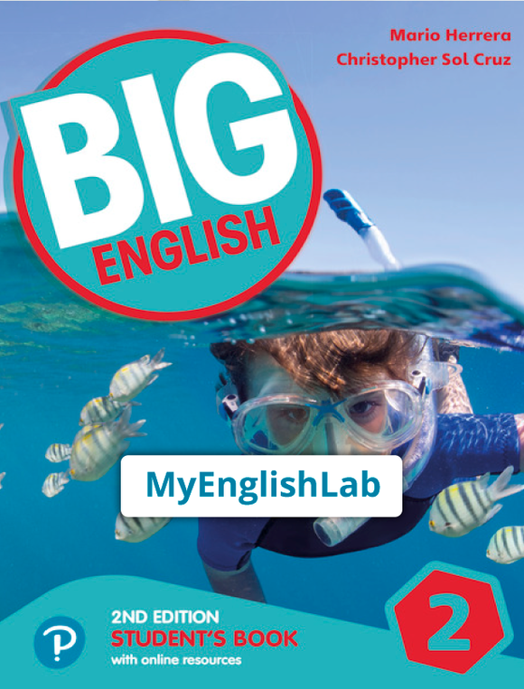 Big English American 2nd edition Level 2 (Student Book Reader+ access & PEP access) 9781292368030