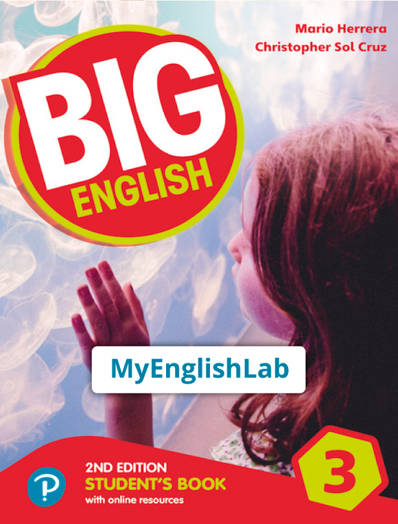 Big English American 2nd edition Level 3 (Student Book Reader+ access & PEP access)  9781292368047