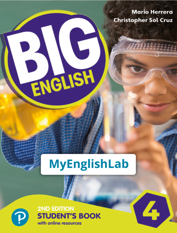 Big English American 2nd edition Level 4 (Student Book Reader+ access & PEP access) 9781292368054