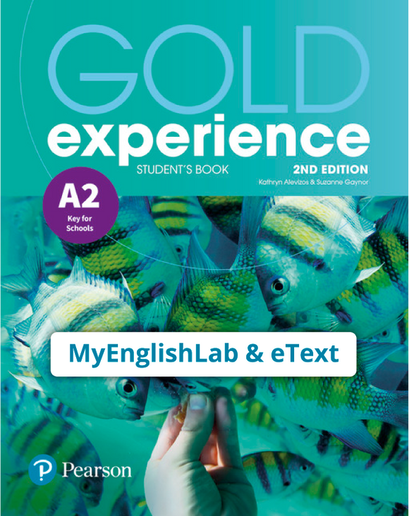 Gold Experience 2nd Edition A2 (eBook,OP,App) - 9781292194301