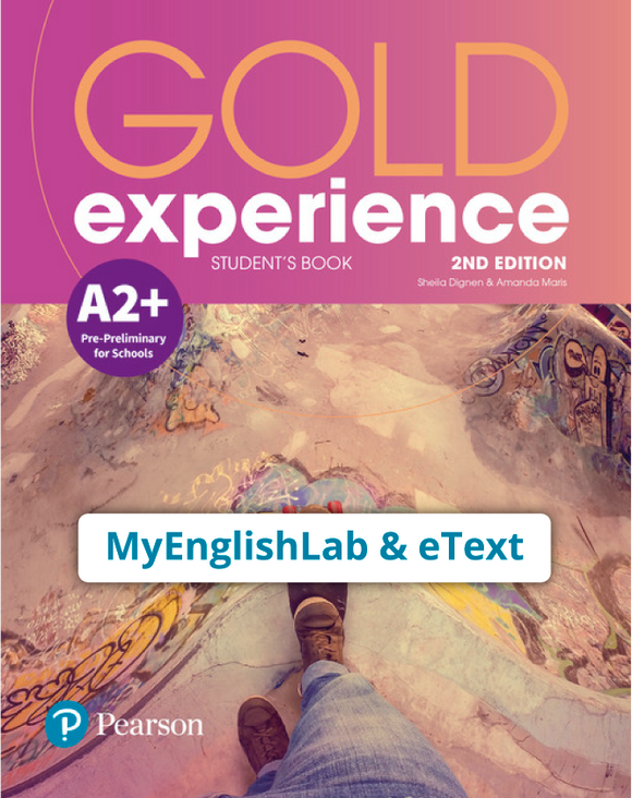 Gold Experience 2nd Edition A2+ (eBook,OP,App) - 9781292194431
