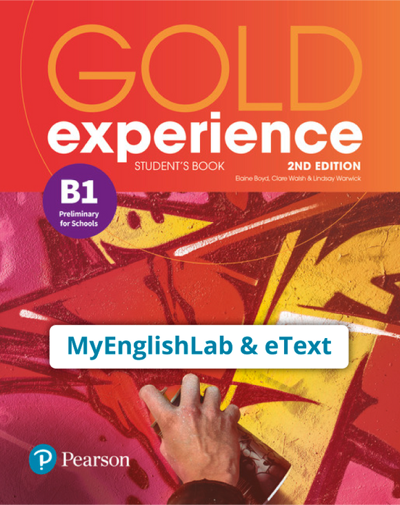 Gold Experience 2nd Edition B1 (eBook,OP,App) - 9781292194561