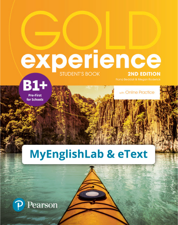 Gold Experience 2nd Edition B1+ (eBook,OP,App) - 9781292194691