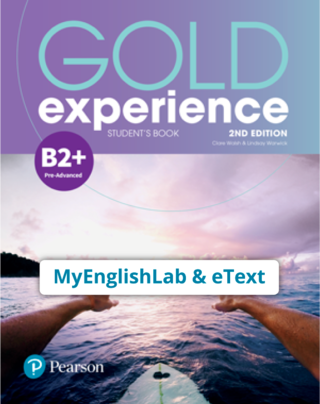 Gold Experience 2nd Edition B2+ (eBook,OP,App) - 9781292194950