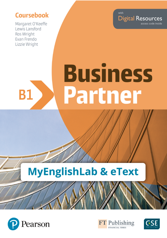ETEXT & MYENGLISHLAB: BUSINESS PARTNER B1 | 9781292362649