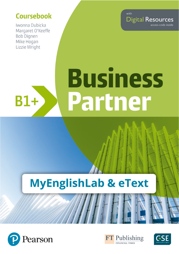 ETEXT & MYENGLISHLAB: BUSINESS PARTNER B1+ - 9781292362601