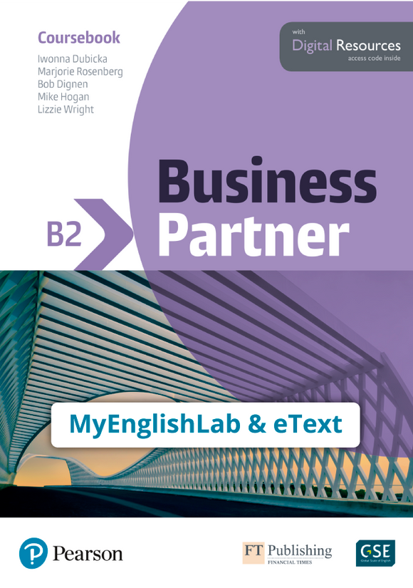 ETEXT & MYENGLISHLAB: BUSINESS PARTNER B2 - 9781292362618