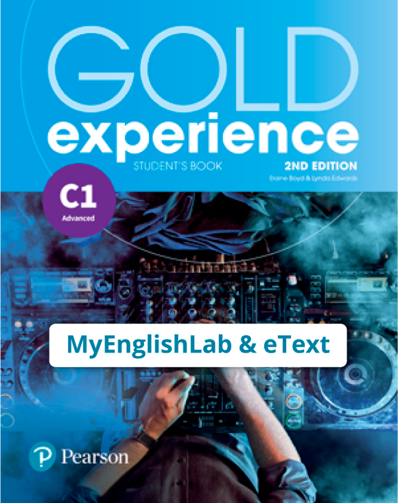 Gold Experience 2nd Edition C1 (eBook,OP,App) - 9781292195087
