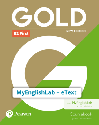 Gold B2  6th Edition | Students' eText and MyEnglishLab Online Access - 9781292202525
