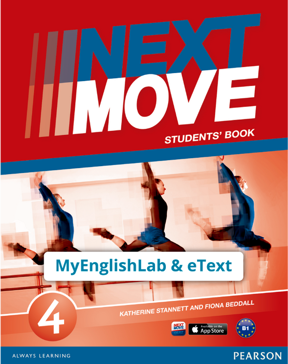Next Move 4 (MEL + eText) - 9781447972846