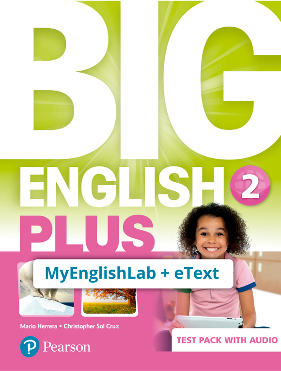 BIG ENGLISH PLUS 2, STU ACCESS CODE (MEL + ETEXT) - 9781292357935