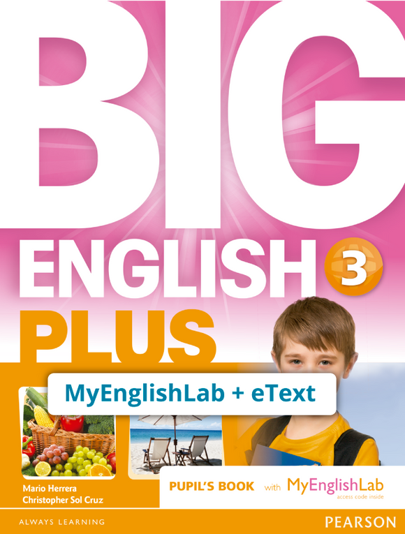 BIG ENGLISH PLUS 3, STU ACCESS CODE (MEL + ETEXT) - 9781292357928