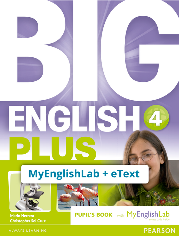 BIG ENGLISH PLUS 4, STU ACCESS CODE (MEL + ETEXT) - 9781292357911