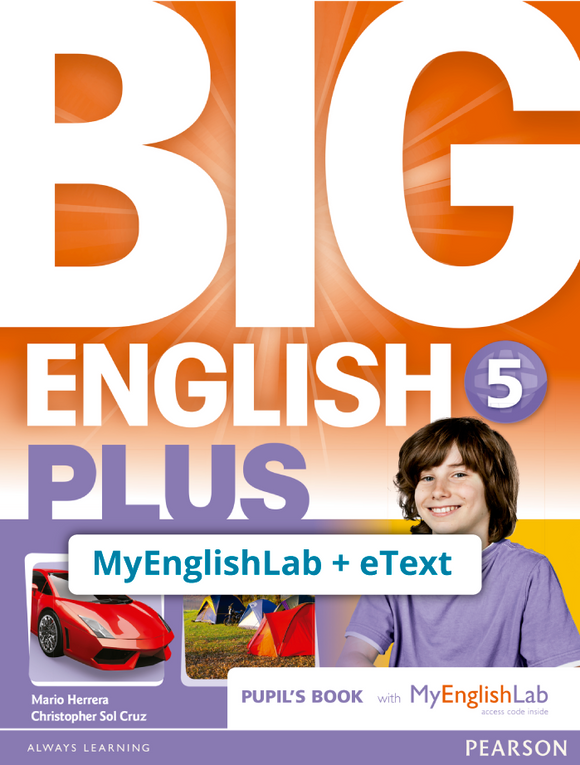 BIG ENGLISH PLUS 5, STU ACCESS CODE (MEL + ETEXT) - 9781292357904