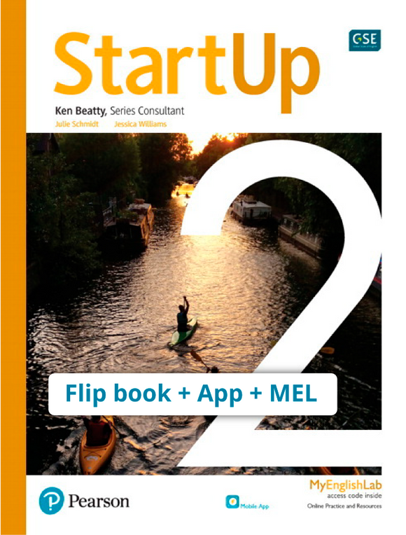 STARTUP LEVEL 2 (FLIP BOOK + APP + MEL PACK) ISBN 9780136909057