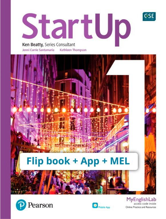 STARTUP LEVEL 1 STARTUP 1 (FLIP BOOK + APP + MEL PACK) ISBN 9780136909033