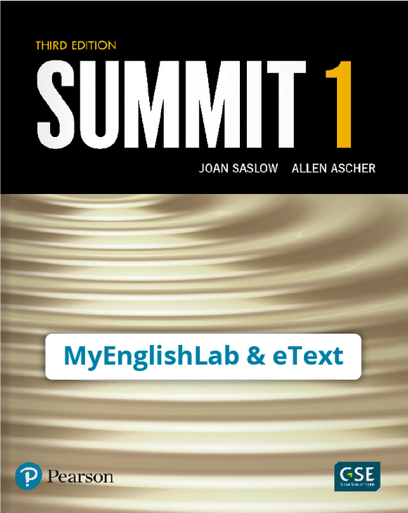 SUMMIT 1 3/E STUDENT EBOOK WITH MEL - 9780135748794