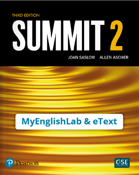SUMMIT 2 3/E STUDENT EBOOK WITH MEL - 9780135717660