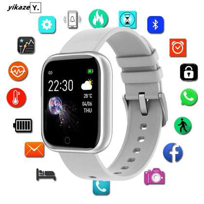 Fitness Tracker Heart Rate Bluetooth Waterproof Smart watch for Android IOS