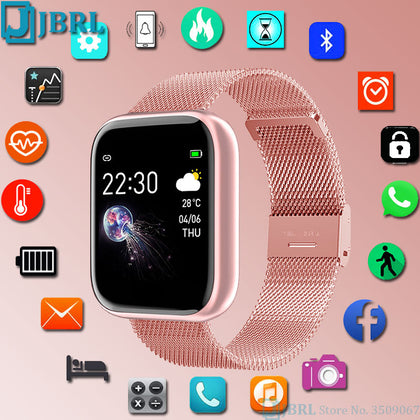 Bluetooth Waterproof Full Touch Smart Watch