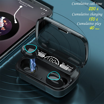 TWS Wireless Headphones Bluetooth Earphone