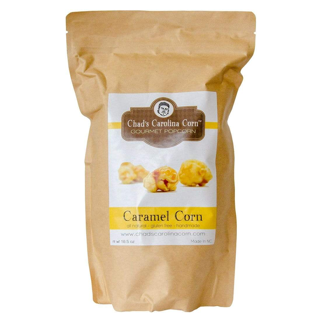 Chad's Carolina Corn Chad's Caramel Corn Gourmet Popcorn 10 oz