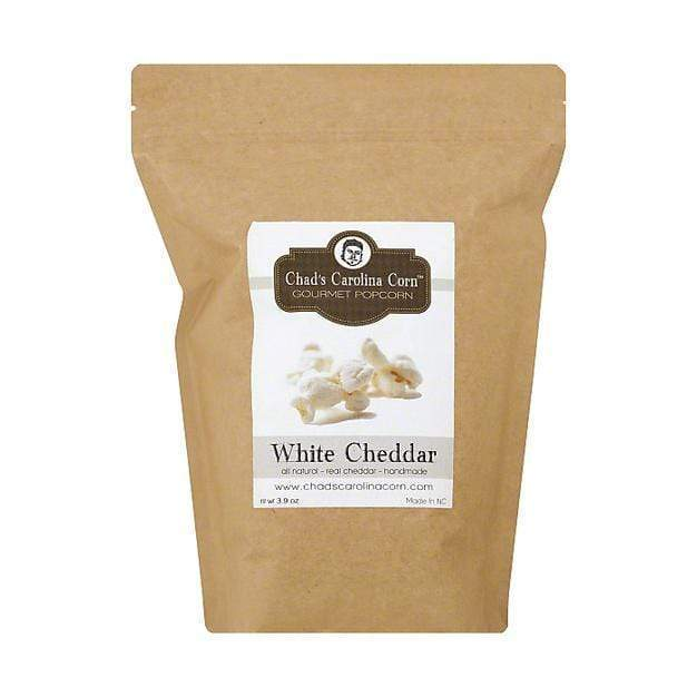 Chad's Carolina Corn Chad's White Cheddar Gourmet Popcorn 3.9 oz
