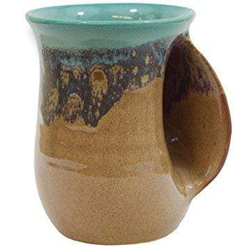 Clay In Motion Clay In Motion 14 oz Island Oasis Right Handwarmer Mug