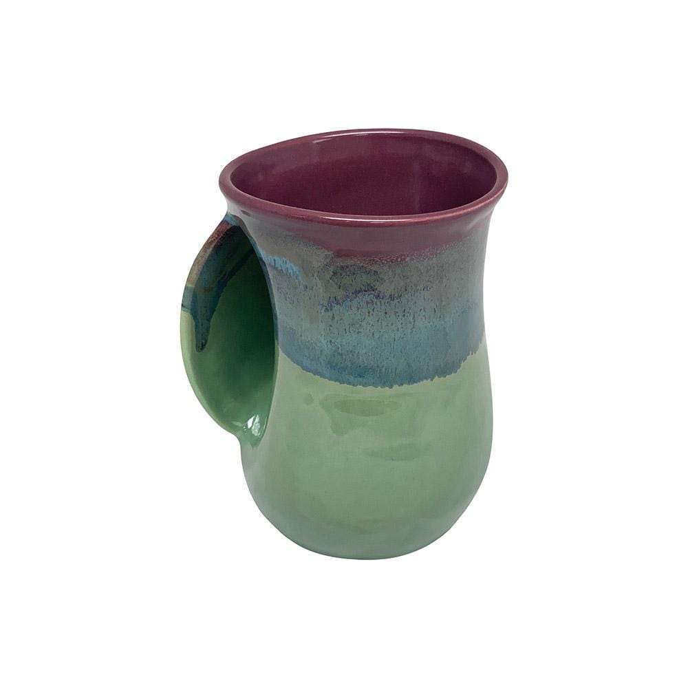 Clay in Motion Clay In Motion 14 oz Mossy Creek Left Handwarmer Mug