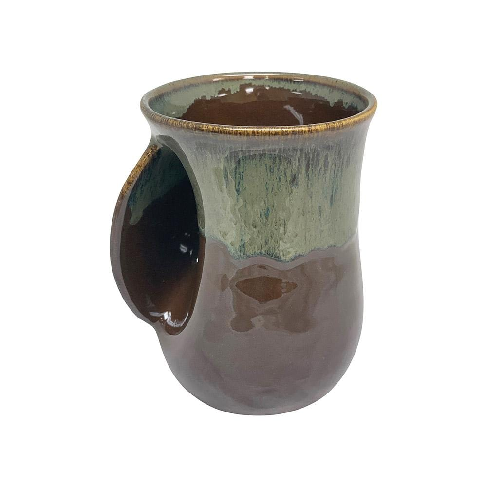 Clay in Motion Clay in Motion Mocha Left Handwarmer Mug
