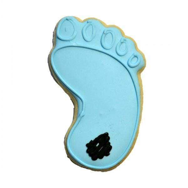 Frosted Baker Frosted Baker Tar Heel Foot Cookie