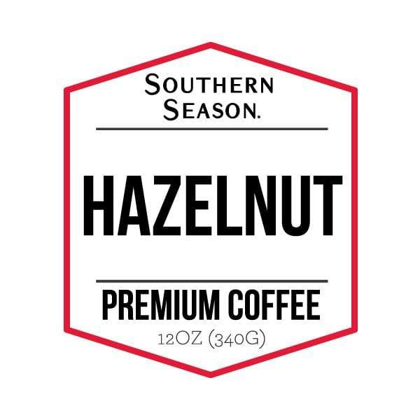 Southern Season Hazelnut Coffee 1lb