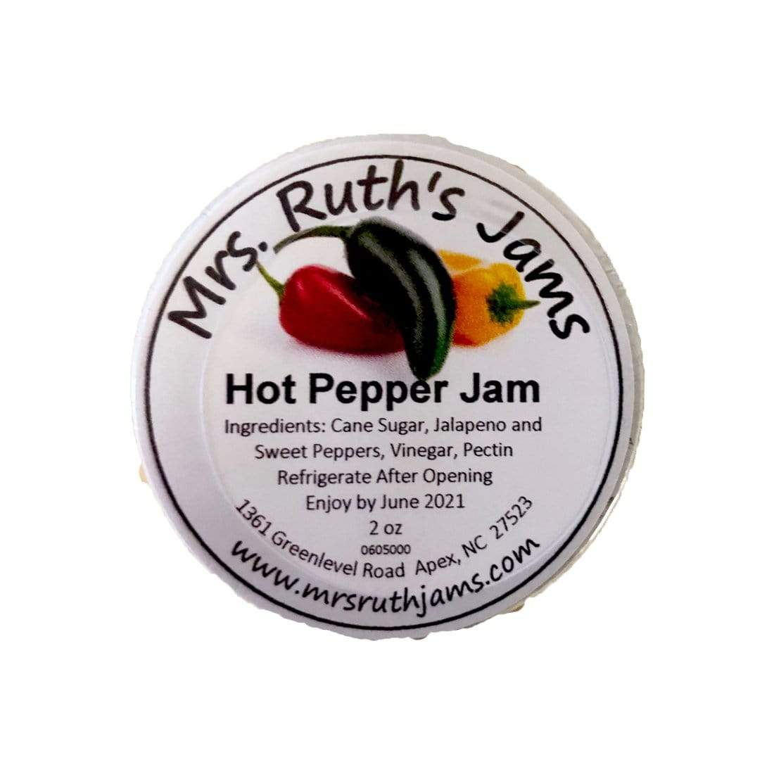 Mrs. Ruth's Jams Mrs. Ruth's Jam Hot Pepper Jam 2 oz