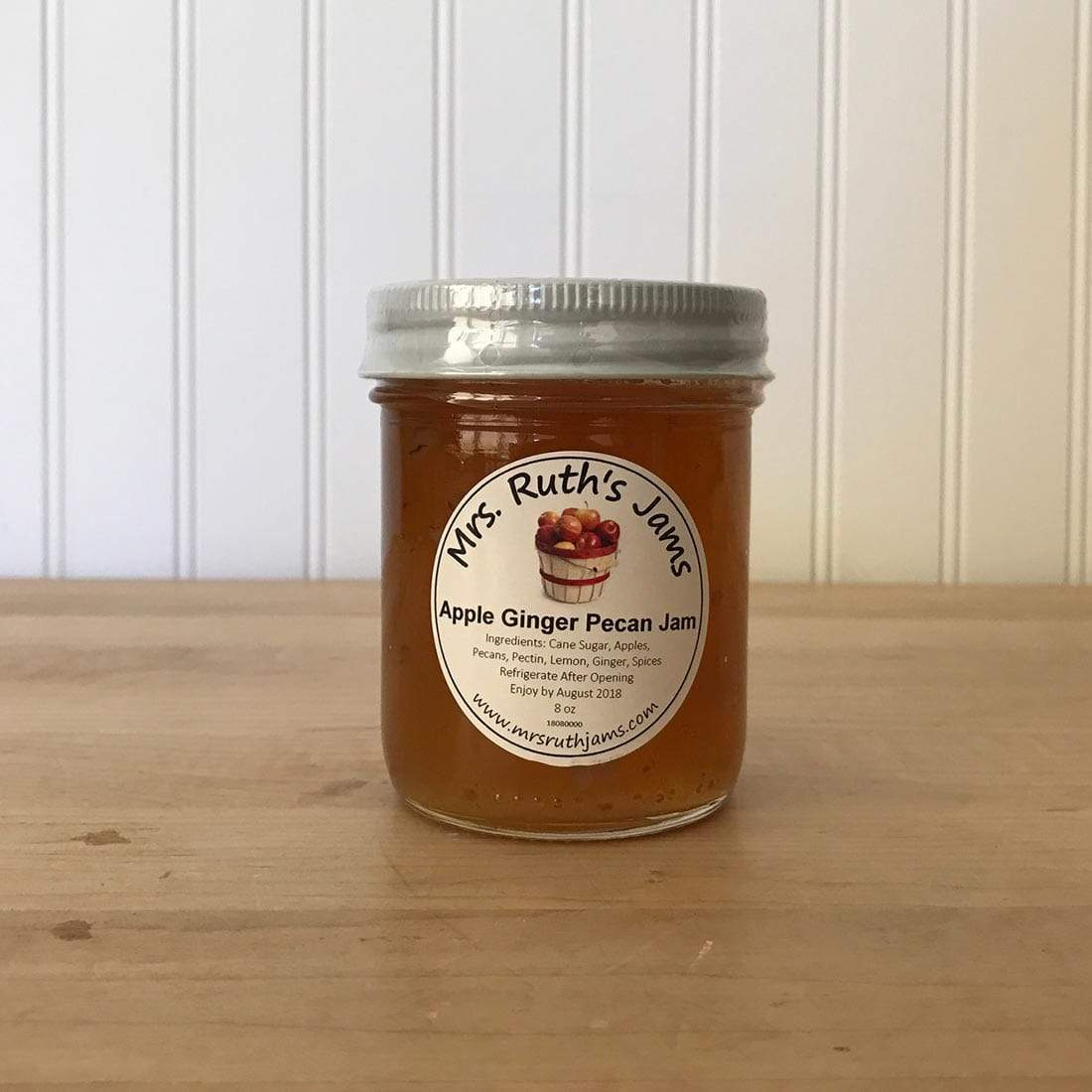 Mrs. Ruth's Jams Mrs. Ruths Apple Ginger Pecan Jam 8 oz