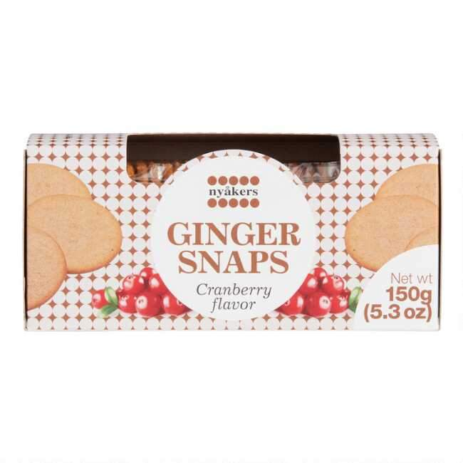 Nyakers Nyaker's Gingersnaps Lemon Cookies 5.3 oz